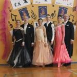 baile de salon standard en zaragoza