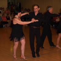 maribel y paco de la asociacion de bailes de salon santa isabel